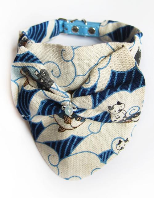 Foulard chat Foulard chien Cat scarf Dog scarf Pets accessories KFarah Paris' accessories Les accessoires KFarah Paris