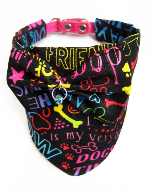Foulard chien Dog scarf Pets accessories KFarah Paris' accessories Les accessoires KFarah Paris
